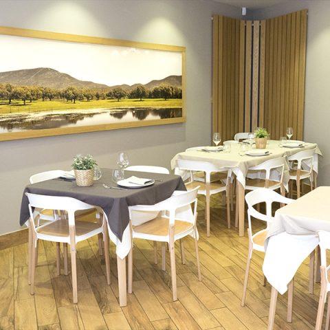 Acogedor y moderno restaurante
