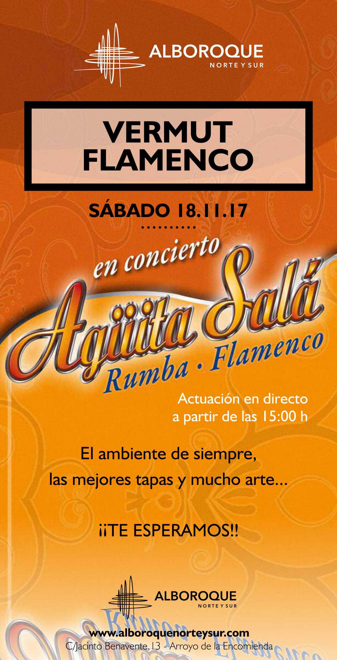 vermouth flamenco arroyo de la encomienda