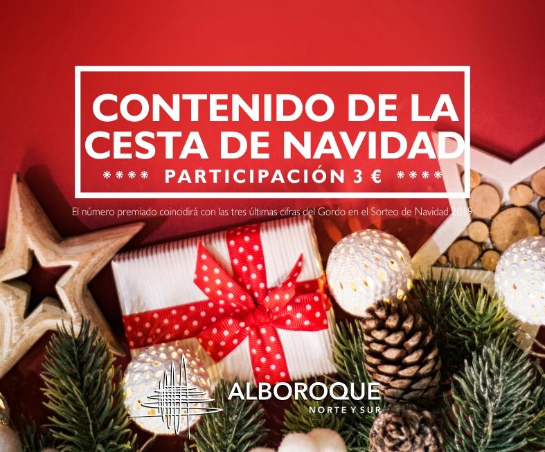 Cesta Navidad Alboroque Norte y Sur