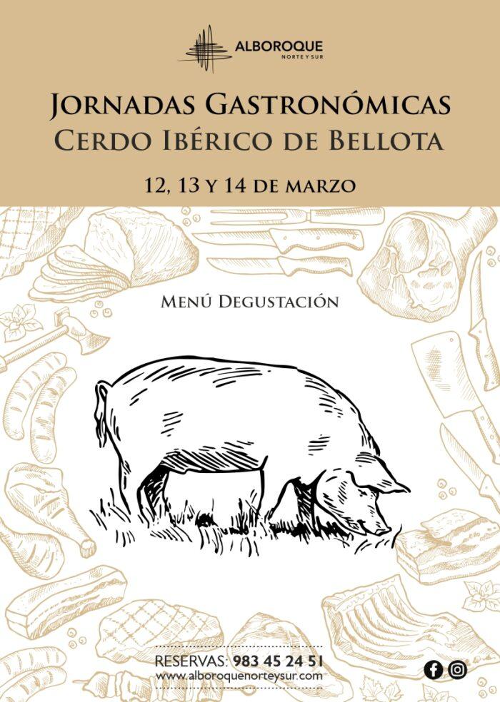 Alboroque Norte y Sur Jornadas Gastronomicas Cerdo Iberico